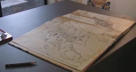 photo de la vidéo d'une dédicace d'Olivier Ledroit pour Wika à la galerie Glénat